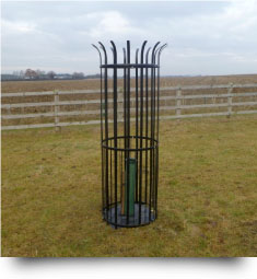 Metal Tree Guard - Easily assembled for large estates, parkland, garden or suburban areas